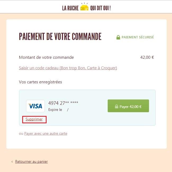 supprimer carte bancaire chrome Supprimer une carte bancaire enregistrée – Centre d'aide
